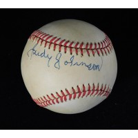 Judy Johnson Signed Official American League Baseball JSA Authenticated