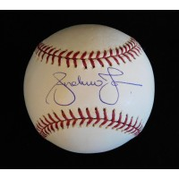 Andruw Jones Signed Official Major League Baseball JSA Authenticated