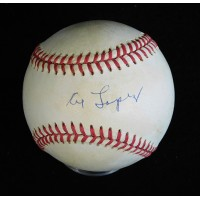 Al Lopez Signed Official American League Baseball JSA Authenticated