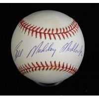 Bill Madlock Signed Official National League Baseball JSA Authenticated