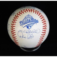 Florida Marlins 1997 World Series Team Signed Baseball by 15 JSA Authenticated