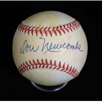 Don Newcombe Signed Official National League Baseball JSA Authenticated