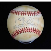 Frank Robinson Signed Official American League Baseball JSA Authenticated