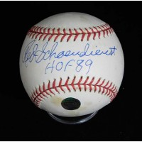 Red Schoendienst Signed Official National League Baseball JSA Authenticated