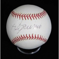 Mike Scioscia Signed Official Major League Baseball JSA Authenticated