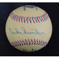 Duke Snider Brooklyn Dodgers Signed 1955 World Series Baseball JSA Authenticated