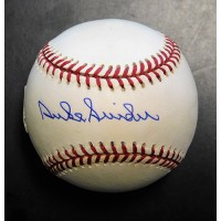 Duke Snider Dodgers Signed National League Baseball PSA/DNA Authenticated