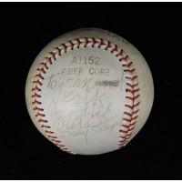 Casey Stengel Signed Wilson All-Star Baseball JSA Authenticated