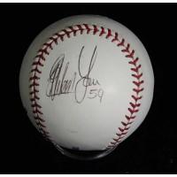 Esteban Yan Signed Official Major League Baseball JSA Authenticated