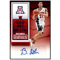 Brandon Ashley Signed 2015-16 Panini Contenders Basketball Card