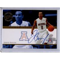 Jerryd Bayless Arizona Wildcats 2008 Press Pass Autographed Card 109/250 #PP-JB