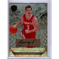 Goran Dragic Houston Rockets 2010-11 Panini Gold Standard Signed Card 97/149 159