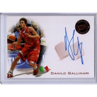 Danilo Gallinari 2008 Press Pass Bronze Autographed Card #PPS-DG