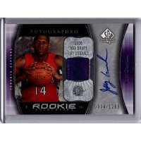 Joey Graham 2005-06 Upper Deck SP Authentic Autographed Rookie Patch Card #106