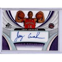 Joey Graham 2005-06 Upper Deck SP Game Used Rookie Exclusives Card /100 #RE-JG