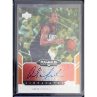 Andre Iguodala 2004-05 Upper Deck Black Diamond Autographed Card #GEM-AI