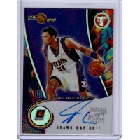 Shawn Marion Phoenix Suns 2001-02 Topps Pristine Autographed Card #A-SM