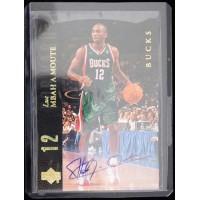 Luc Richard Mbah A Moute Signed 2008-09 UD Lineage SE Diecut Card #230