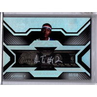 Al Thornton Clippers 2007-08 Upper Deck Black Ticket Autographed Card 8/50 TA-AT