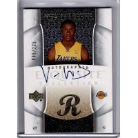 Von Wafer 2005-06 Upper Deck Exquisite Autographed Rookie Card /225 #85-AP