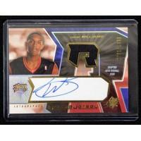 Louis Williams Philadelphia 76ers 2005-06 SPX Signed Rookie Card #126 791/1499