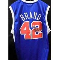 Elton Brand Los Angeles Clippers Signed Replica Jersey JSA Authenticated