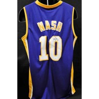 Steve Nash Los Angeles Lakers Signed Replica Jersey JSA Authenticated