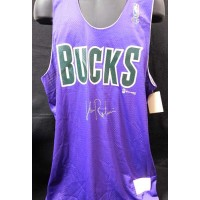 Glenn Robinson Milwaukee Bucks Signed Jersey JSA Authenticated