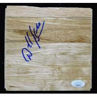 Darrell Armstrong Dallas Mavericks Signed 6x6 Floorboard JSA Authenticated