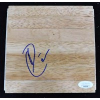 Darren Collison Indiana Pacers Signed 6x6 Floorboard JSA Authenticated