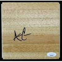 Allen Crabbe Portland Trail Blazers Signed 6x6 Floorboard JSA Authenticated