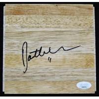 Dante Exum Utah Jazz Signed 6x6 Floorboard JSA Authenticated