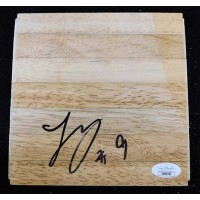 Langston Galloway Phoenix Suns Signed 6x6 Floorboard JSA Authenticated