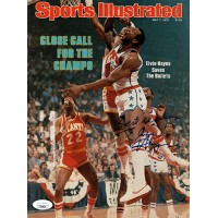Elvin Hayes Washington Bullets Signed Sports Illustrated Cover JSA Authenticated