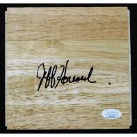 Jeff Hornacek Phoenix Suns Signed 6x6 Floorboard JSA Authenticated