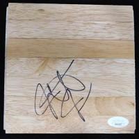 Jarrett Jack Portland Trail Blazers Signed 6x6 Floorboard JSA Authenticated