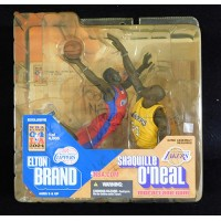 Todd McFarlane Signed NBA All-Star LE Elton Brand Shaquille O'Neal JSA Authentic