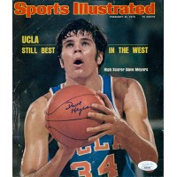 Dave Meyers UCLA Bruins Signed Sports Illustrated Cover Page JSA Authenticated