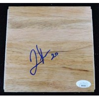 Quincy Miller Denver Nuggets Signed 6x6 Floorboard JSA Authenticated