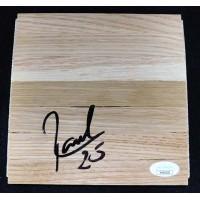 Raul Neto Washington Wizards Signed 6x6 Floorboard JSA Authenticated