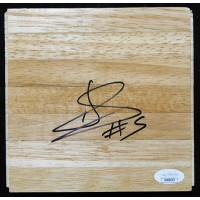 Andres Nocioni Chicago Bulls Signed 6x6 Floorboard JSA Authenticated