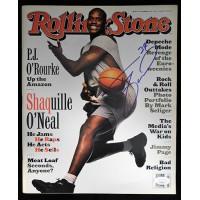 Shaquille O'Neal Orlando Magic Signed Rolling Stone Magazine JSA Authenticated