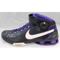 Scot Pollard Signed Nike Elite Reef Promo Shoe JSA Authenticated