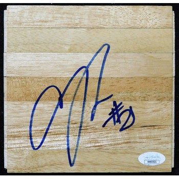 Andre Roberson Oklahoma City Thunder Signed 6x6 Floorboard JSA Authenticated