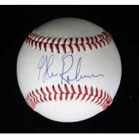 Glenn Robinson Signed Spalding Official Major League Baseball JSA Authenticated