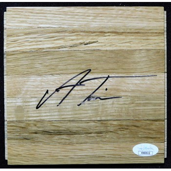Allonzo Trier New York Knicks Signed 6x6 Floorboard JSA Authenticated