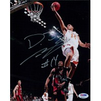 D.J. Augustin Texas Longhorns Signed 8x10 Glossy Photo PSA/DNA Authenticated