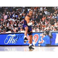 Charles Barkley Phoenix Suns Signed 11x14 Matte Photo JSA Authenticated