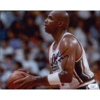 Charles Barkley Team USA Signed 8x10 Matte Photo JSA Authenticated