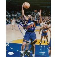 Charles Barkley Phoenix Suns Signed 8x10 Glossy Photo JSA Authenticated